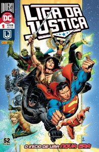 Hq Liga da Justiça Renascimento 1 Universo Dc Panini Books