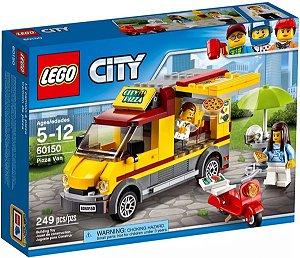 Brinquedo LEGO City Van De Entrega De Pizzas 249 Peças 60150