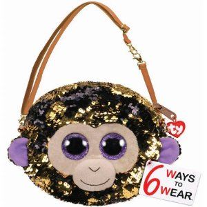 Nova Bolsa Fashion Ty Paete Macaco Coconut Dourado Dtc 5028