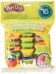 Kit Play-Doh Pacote de Festa 15 Unidades Com Adesivos 18367