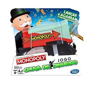 Jogo Chuva de Dinheiro Monopoly Lançar e Agarrar  E3037