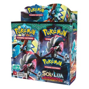 Novo Box Boosters Pokemon Sol E Lua 2 Guardiões Ascendentes