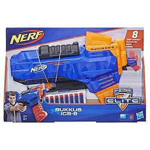 Lançador Nerf N-Strike Elite Ruckus ICS-8 Hasbro E3058