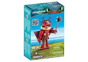 Playmobil Dragoes Melequento em Armadura de Voo 70043 Sunny