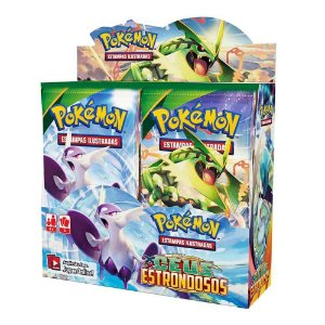 Novo Box Boosters Pokemon XY Ceus Estrondosos Pokemon Tcg