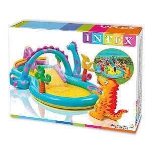Piscina Infantil Playground Mundo dos Dinossauros 290L 57135