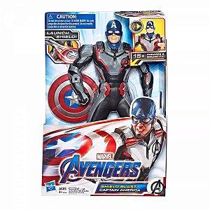 Boneco Capitão America Deluxe Vingadores Ultimato E3358
