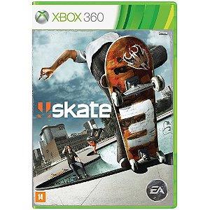 Jogo Novo Midia Fisica Skate 3 Original da EA para Xbox 360