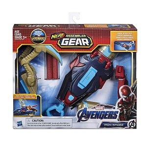 Novo Lançador Nerf Assembler Gear 2.0 Homem Aranha E3355