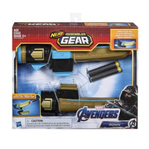 Novo Lançador Nerf Assembler Gear Ronin Hasbro E3355