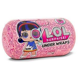 Brinquedo Boneca LOL Surprise Under Wraps Capsula Original