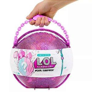 Brinquedo Boneca L.o.l Surprise Pérola Pearl 11 Surpresas