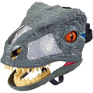 Mascara Jurassic World Raptor Com Som Muito Real Fmb74