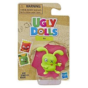 Brinquedo Mini Figura Ugly Dolls Ox Hasbro E5655