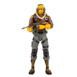 Novo Boneco Fortnite Articulado Raptor 18 cm Fun 84306