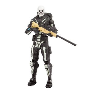 Novo Boneco Fortnite Articulado Skull Trooper Fun 84307
