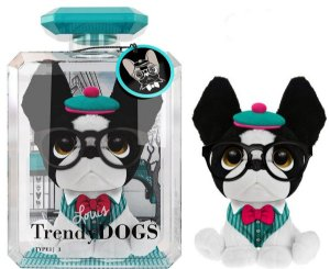 Cachorro de Pelucia Trendy Dogs Louis de Paris Fun 80065