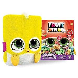 Nova Pelucia Crunch Mania Fruit Rings com Sons Fun 80080