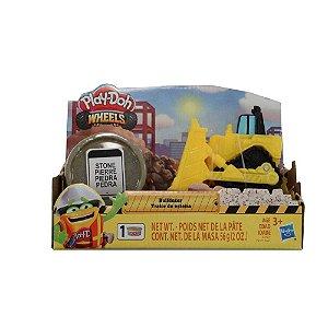 447d7fc5c5 Play-Doh Conjunto Wheels Trator De Esteira Hasbro E4575