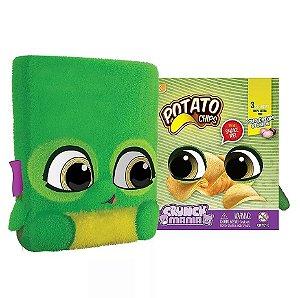 Nova Pelucia Crunch Mania Potato Chips com Sons Fun 80080