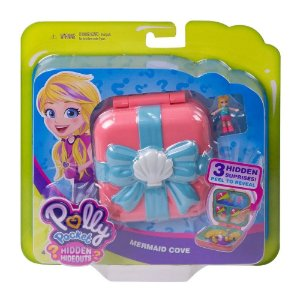 Polly Pocket Esconderijos Secretos Caverna Da Sereia Mattel