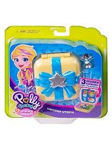 Polly Pocket Esconderijo Secreto Mundo De Unicórnio Mattel