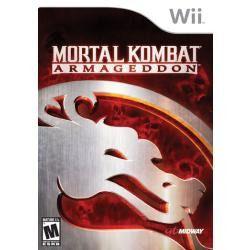 Jogo Para Wii Mortal Kombat Armageddon Lacrado E Original