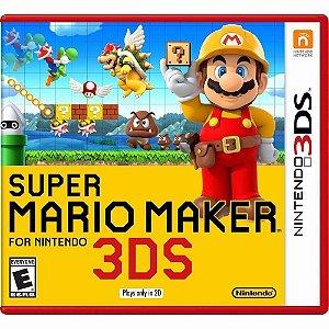Jogo Mídia Física Super Mario Maker 3ds Para Nintendo 3ds