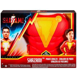 DC Comics Shazam Peitoral com Luzes e Sons Mattel Gdn19