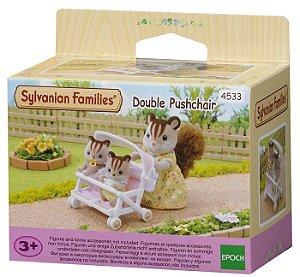 Novo Brinquedo Sylvanian Families Carrinho Duplo Epoch 4533