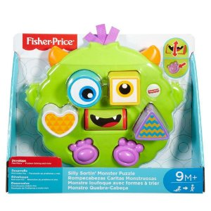 Brinquedo Monstro Quebra Cabeça Fisher Price Dym90