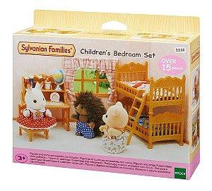Sylvanian Families Conjunto  Quarto Infantil Epoch 5338