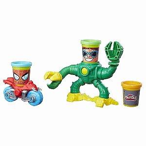 Brinquedo Play Doh Homem Aranha Vs Doc Ock Massinha B9364