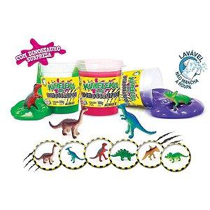 Brinquedo Slime Slyme Kimeleka Dinossauro Acrilex
