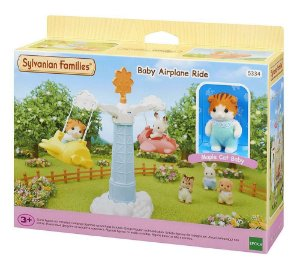 Novo Brinquedo Sylvanian Families Avião Do Bebê Epoch 5334
