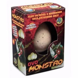 Brinquedo Choca Ovo Monstro Surpresa Dtc Cresce Monstro