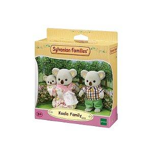 Novo Sylvanian Families Família Dos Coalas Epoch 5310