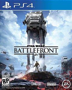 Jogo Midia Fisica Novo Playstation Ps4 Star Wars Battlefront