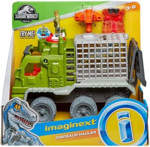 Brinquedo Imaginext Caminhão Dinossauro Fmx87 Mattel