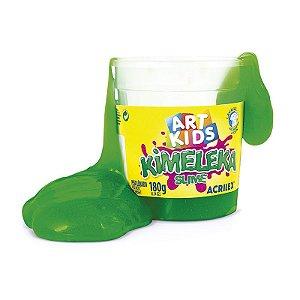Brinquedo Slime Slyme Kimeleka Cores Sortidas Acrilex 180g