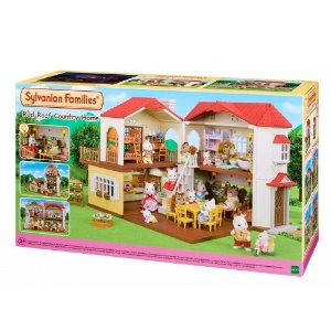 Sylvanian Families Casa Telhado Vermelho C/ Luzes Epoch 5302