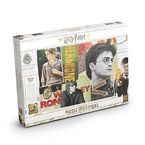 Quebra Cabeça Puzzle Harry Potter 1000 Peças Grow