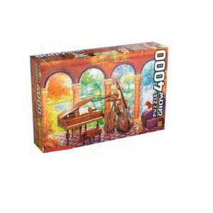 Quebra Cabeça 4000 Peças Vivaldi as Quatro Estações Grow
