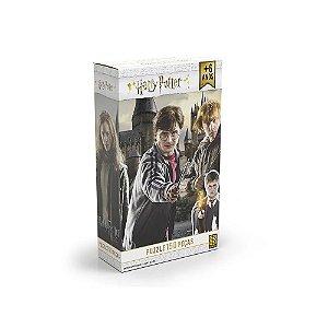 Novo Quebra Cabeça Puzzle Harry Potter 150 Peças Grow 03616