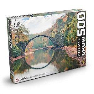 Quebra Cabeça Puzzle Ponte Espelhada 500 Peças Grow 03732