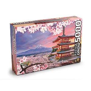 Novo Quebra Cabeça Puzzle Monte Fuji 5000 Peças Grow 03464