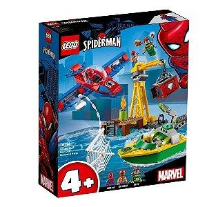 Lego Spider Man O Assalto aos Diamantes de Dock Ock 76134