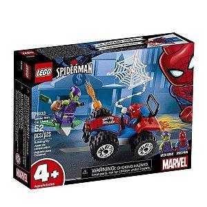Lego A Perseguicao de Carro do Homem Aranha 52 Peças 76133