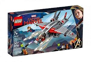 Novo Lego Capita Marvel e o Ataque do Skrull 307 Peças 76127