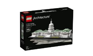 Lego Arquitetura Edificio Capitolio dos Estados Unidos 21030